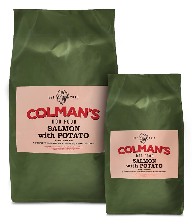 Colman's Salmon and Rice Gluten Free Working Dog Food